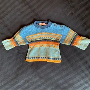 Clayeux French toddler chenille sweater